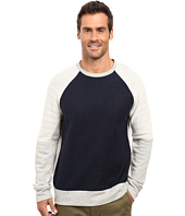 Nautica - Long Sleeve Blocked Crew Knit