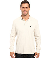 Nautica - Long Sleeve Solid Interlock Polo