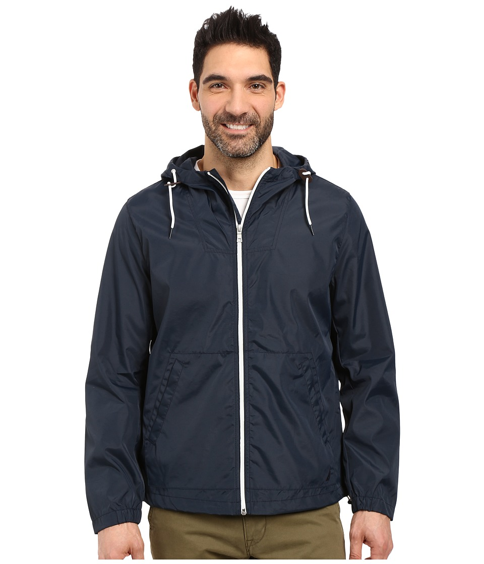 Nautica - Hoodied Bomber Jacket (True Navy) Men
