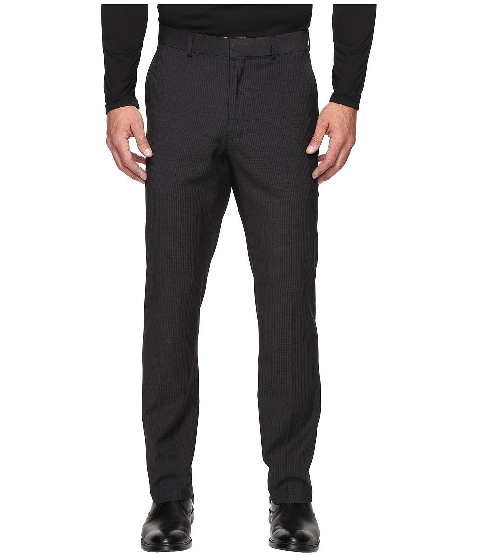Kenneth Cole Reaction - Techni-Cole Stretch Pants (Black) Mens Dress Pants