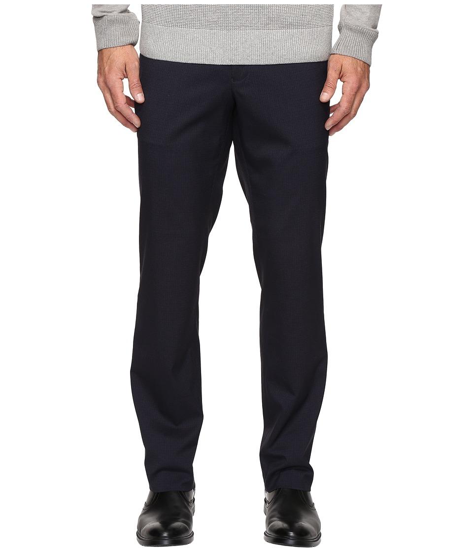Kenneth Cole Reaction - Techni-Cole Stretch Pants (Navy) Mens Dress Pants