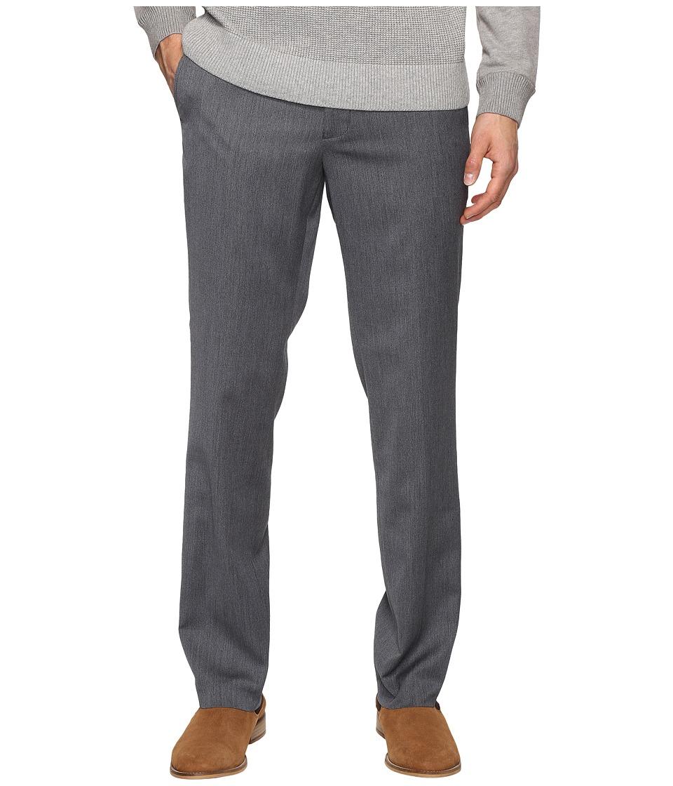 Kenneth Cole Reaction - Techni-Cole Stretch Pants (Light Grey) Mens Dress Pants