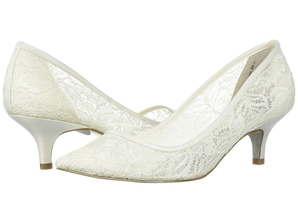 Adrianna Papell - Lois Lace (Ivory 1890 Lace) Womens 1-2 inch heel Shoes
