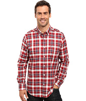 Nautica - Long Sleeve Wrinkle Resistant Plaid Shirt