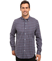 Nautica - Long Sleeve Wrinkle Resistant Small Plaid Shirt