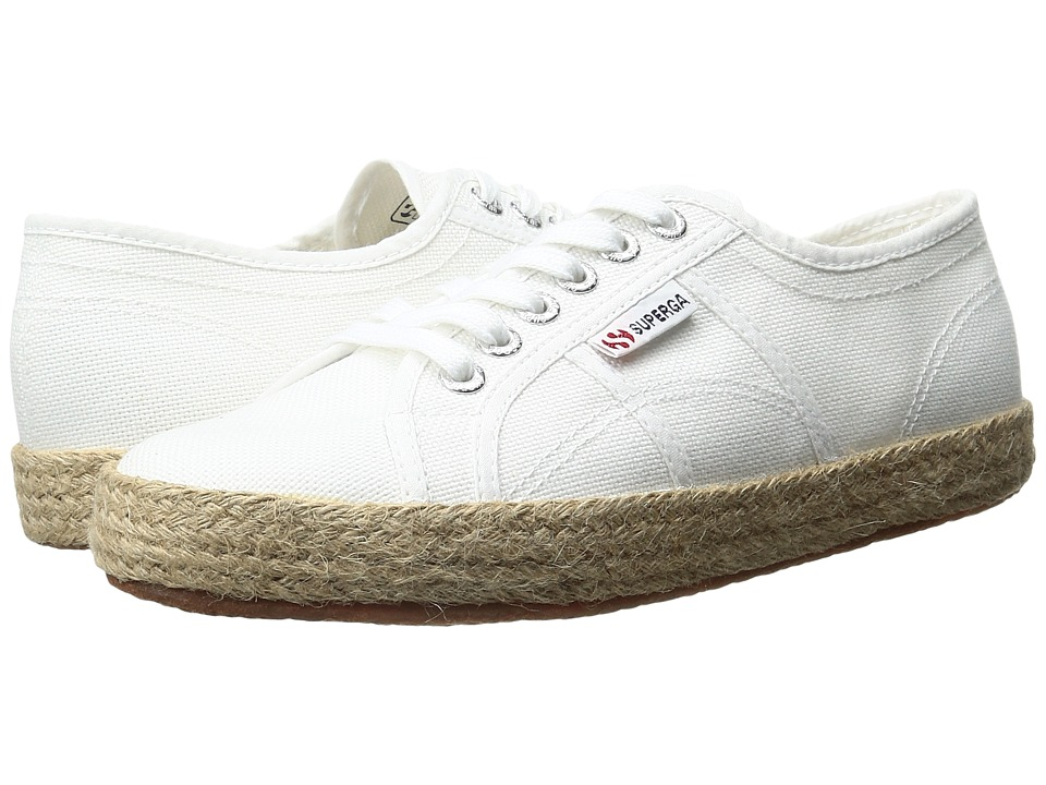 Superga 2750 Cotropew (White Canvas) Women