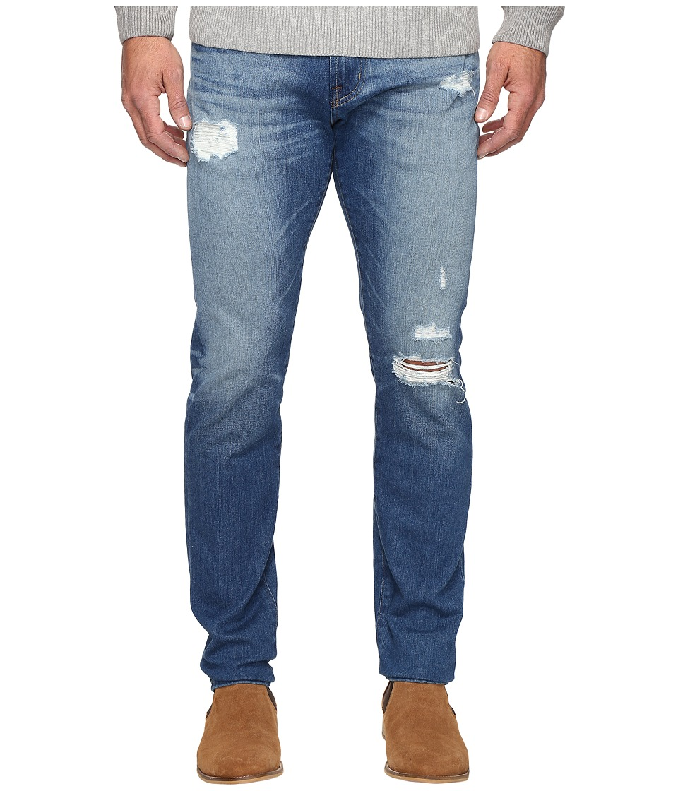 Image of AG Adriano Goldschmied - Dylan Skinny Leg Denim in 16 Years Grommert (16 Years Grommert) Men's Jeans