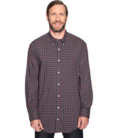 Nautica Big & Tall - Big & Tall Long Sleeve Wrinkle Resistant Plaid