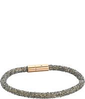 Fossil - Crystal Mesh Cord Bracelet