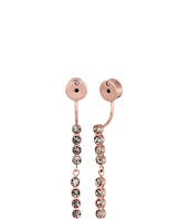 Fossil - Dot Crystal Ear Jackets Earrings