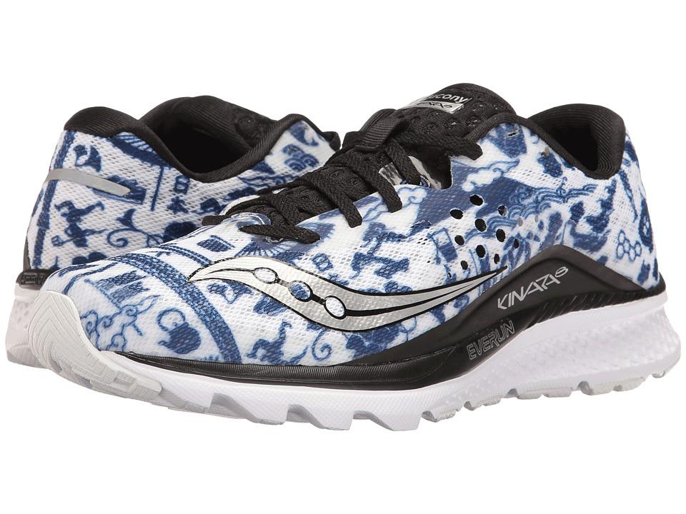 Saucony Tokyo Marathon Kinvara 8 (White/Blue) Men's Shoes