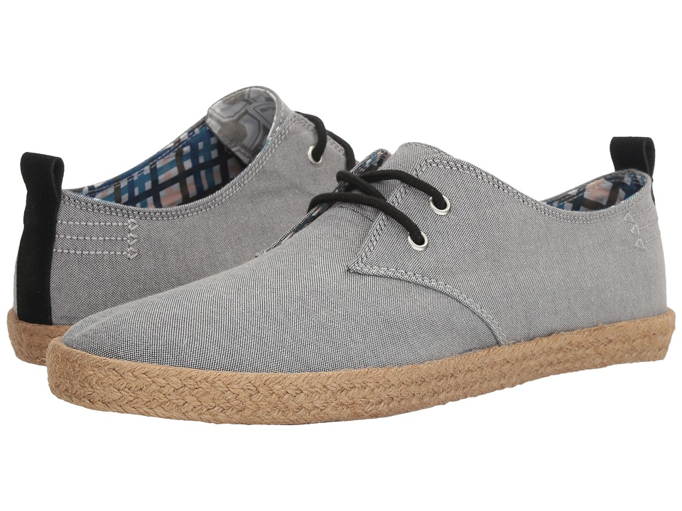 Ben Sherman New Prill Lace-Up (Black Chambray) Men