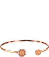 Fossil - Pink Crystal Flex Bangle Bracelet