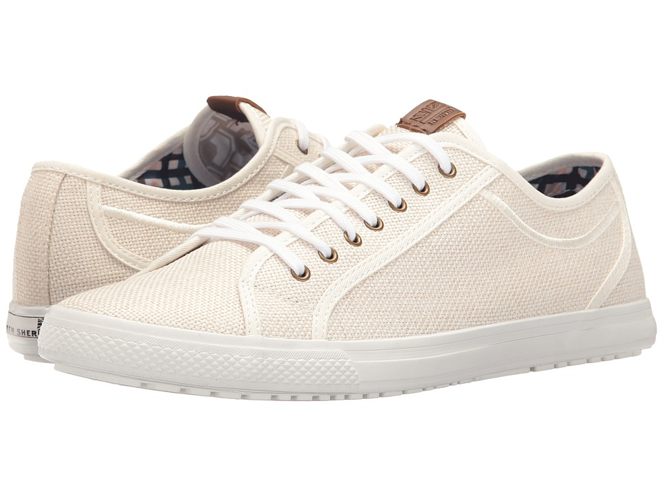 Ben Sherman Chandler Lo (Off-White Linen) Men