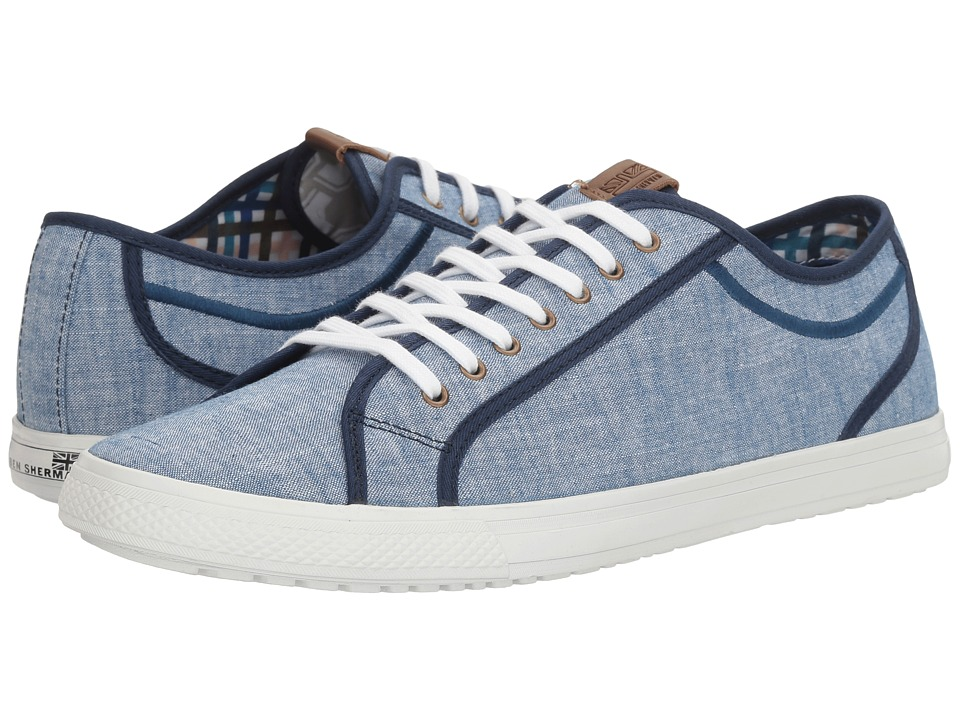 Ben Sherman Chandler Lo (Blue Chambray) Men