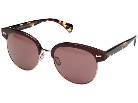 Oliver Peoples Shaelie - Burgundy/Rose Gold/Damson