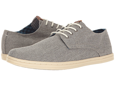 Ben Sherman Parnell Oxford - Grey Linen
