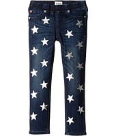 Hudson Kids - Five-Pocket Skinny with Foil Star Print Jeans in Sky Blue (Toddler/Little Kids)