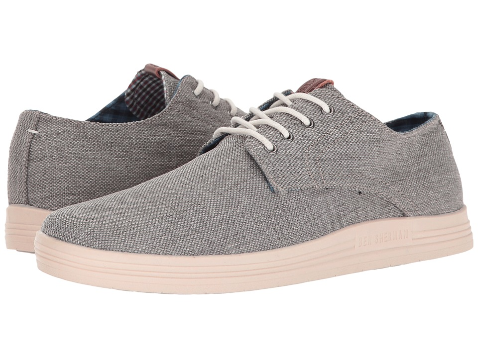 Ben Sherman Payton (Grey Linen) Men