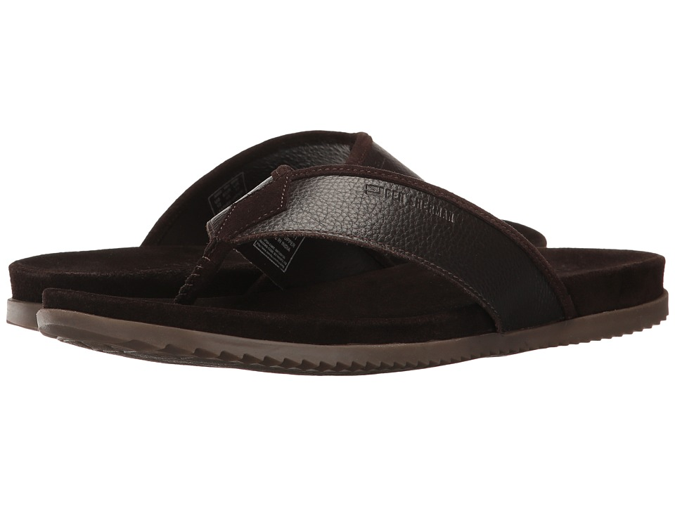 Ben Sherman Milo Thong (Brown Leather) Men
