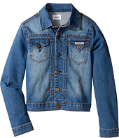 Hudson Kids - Denim Jacket with Patchwork (Big Kids)
