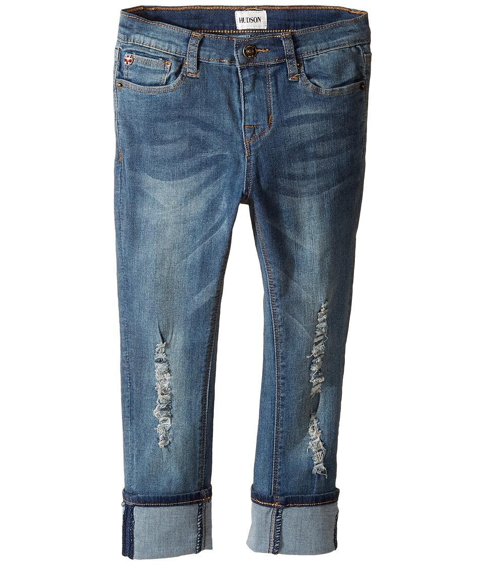 Hudson Kids - Ginny Crop Jeans in Sanded Wash