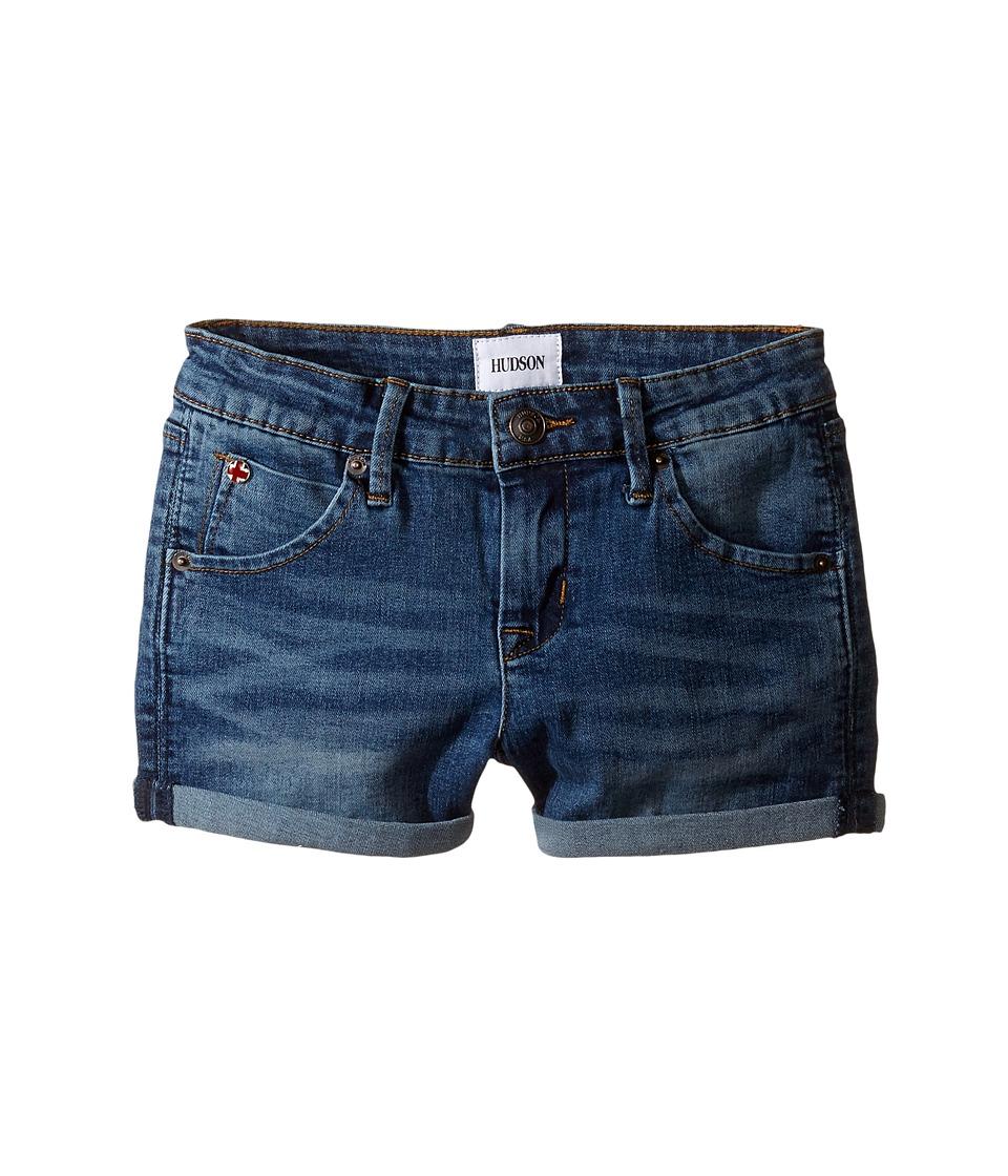 Hudson Kids - 2 1/2 Roll Shorts in Glacier Blue