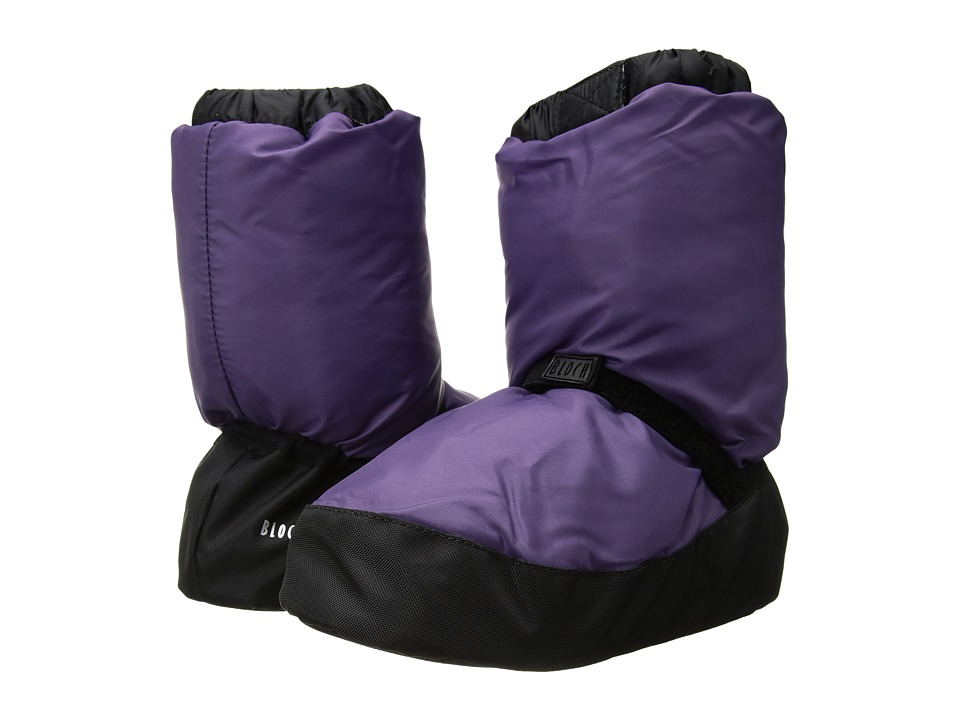 Bloch Warm Up Bootie (Purple)