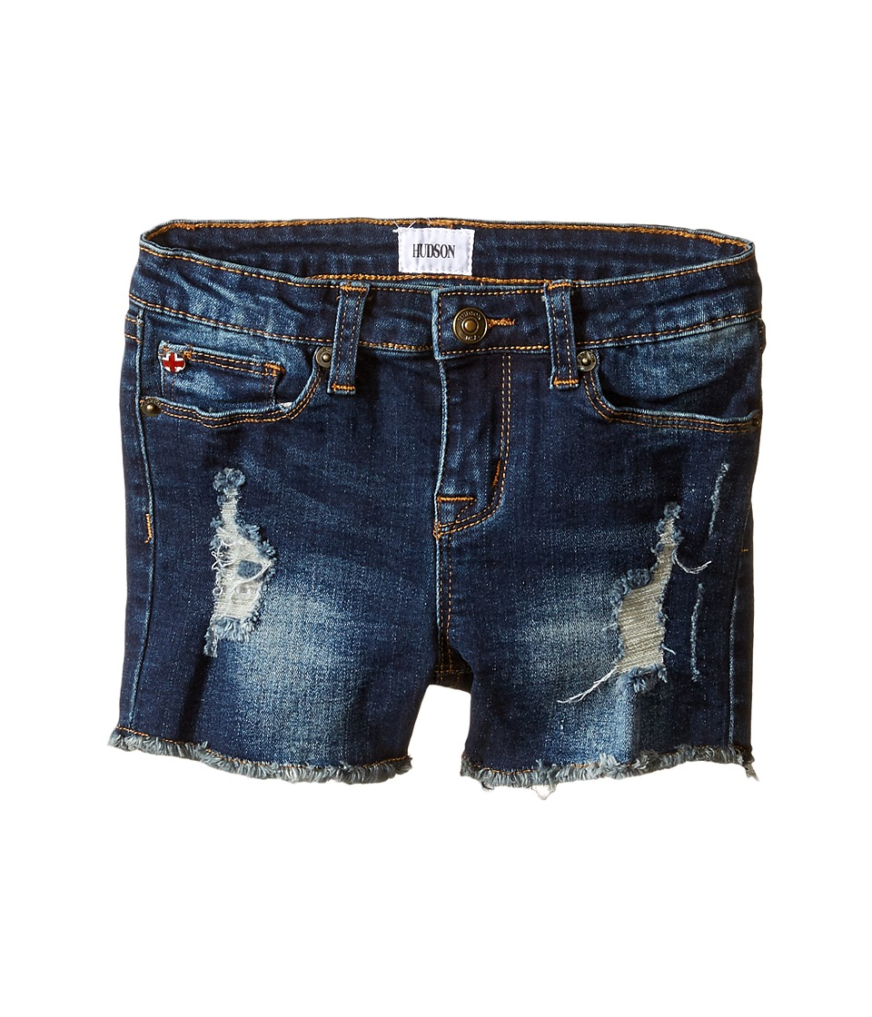 Hudson Kids - 3 Fray Shorts in Atlantic Blue