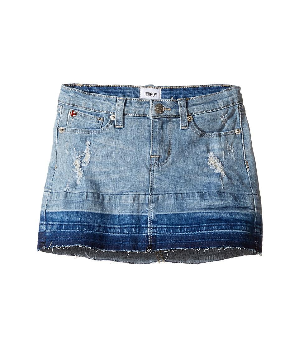 Hudson Kids - Fearless Five-Pocket Straight Skirt with Release Hem