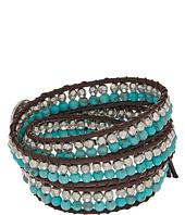 Lucky Brand - Turquoise Beaded Wrap Bracelet