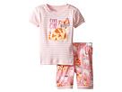 Hatley Kids - Cool Cats Short Pajama Set (Toddler/Little Kids/Big Kids)