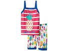 Hatley Kids - Tropical Pineapple Tank Pajama Set (Toddler/Little Kids/Big Kids)