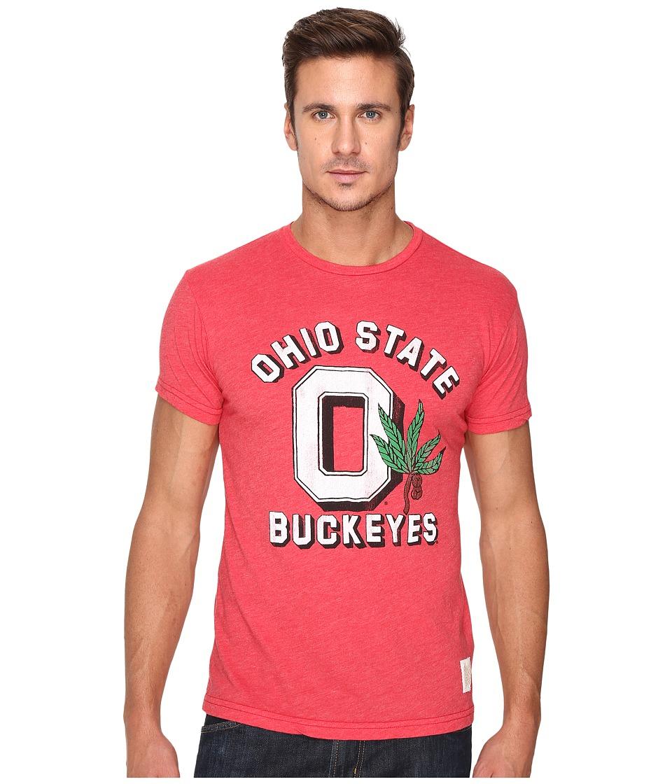 The Original Retro Brand - Ohio State Short Sleeve Heather Tee