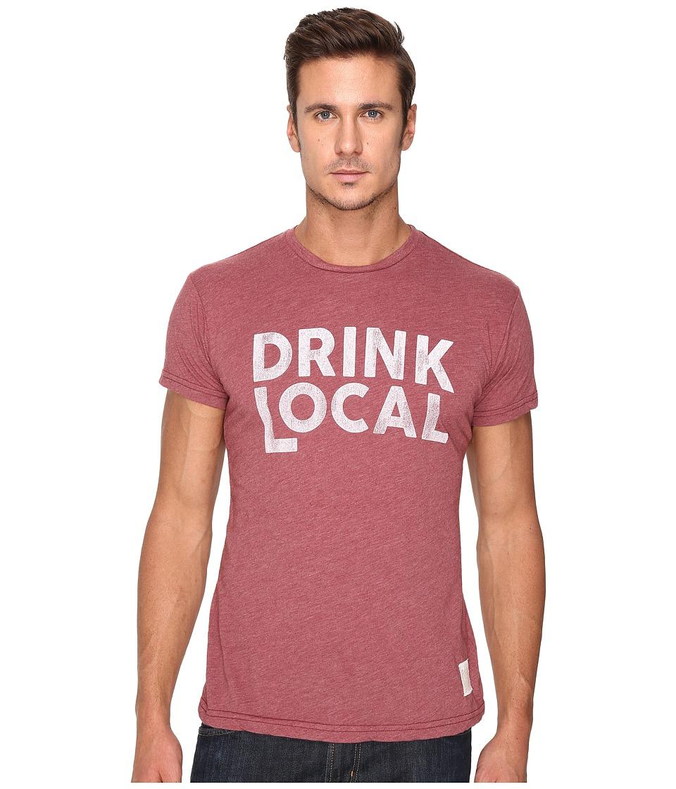 The Original Retro Brand - Heather Short Sleeve Drink Local Tee