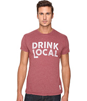The Original Retro Brand - Heather Short Sleeve Drink Local Tee