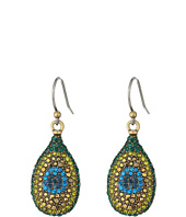 Lucky Brand - Peacock Pave Drop Earrings
