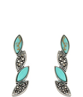 Lucky Brand - Turquoise Pave Crawler Earrings