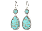 Lucky Brand - Turquoise Pave Drop Earrings