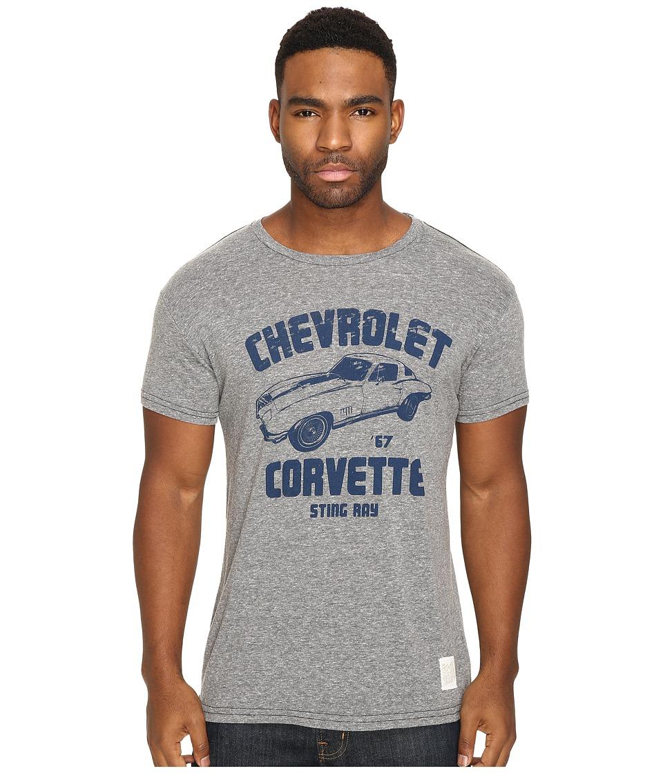 The Original Retro Brand - Corvette Short Sleeve Tri-Blend Tee