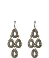 Lucky Brand - Gold Tear Earrings