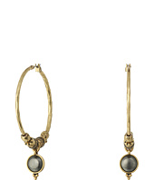 Lucky Brand - Floral Hoop Earrings
