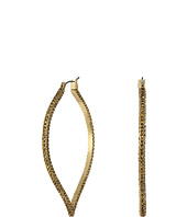 Lucky Brand - Spade Pave Hoop Earrings