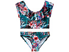 Seafolly Kids Tropical Vacation Ruffle Tankini Set (Little Kids/Big Kids)