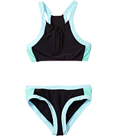 Seafolly Kids - Aztec Tapestry Zip Front Tankini Set (Little Kids/Big Kids)