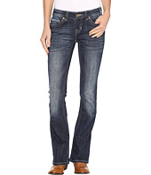 Rock and Roll Cowgirl - Rival Low Rise Jeans in Dark Vintage W6-9610