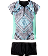 Seafolly Kids - Aztec Tapestry Surf Set (Little Kids/Big Kids)