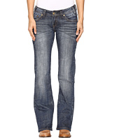 Rock and Roll Cowgirl - Riding Bootcut Jeans in Dark Vintage W7-9626