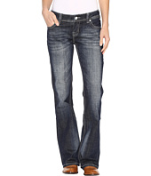 Rock and Roll Cowgirl - Riding Bootcut Jeans in Dark Vintage W7-9621