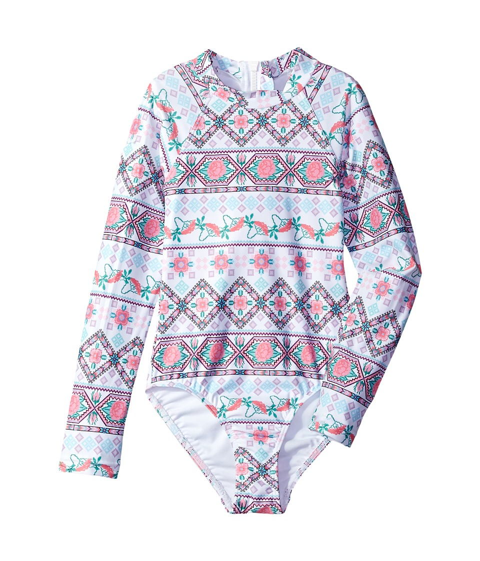 Seafolly Kids - Festival Surf Long Sleeve Tank One-Piece
